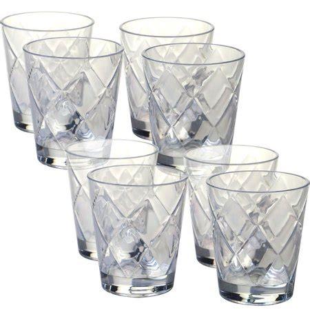 6pcs Gelas Juice Onyx clear acrylic diamonds kamisco