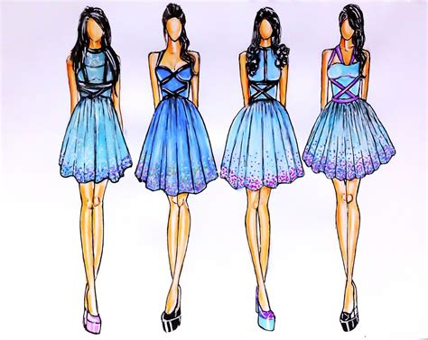 Sketches Clothes by Fashion Design Sketches Of Dresses 2015 2016