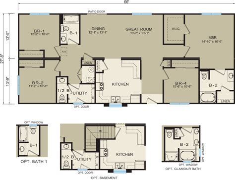 modular home floor plans michigan michigan modular homes 3641 prices floor plans