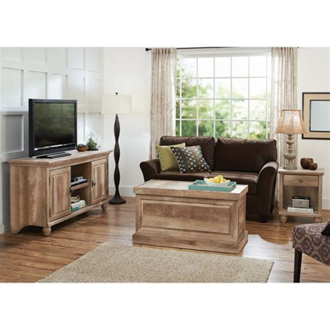 living room walmart better homes and gardens crossmill living room set lintel oak walmart