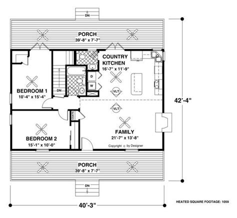 lake cottage floor plans the forest lake cottage 2298 2 bedrooms and 1 bath the