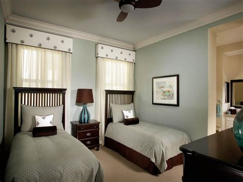 bedroom with 2 beds photo page hgtv