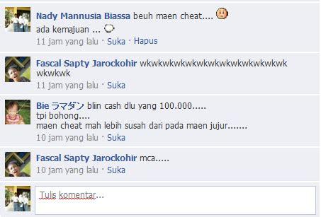 fb new status mengomentari status fb dengan emotion siswa tkj karawang