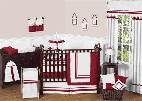 Hotel Baby Crib White And Modern Hotel Baby Bedding 9pc Crib Set By Sweet Jojo Designs Only 189 99