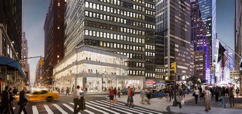 Design Office Space Online times square glass box a shopper magnet real estate weekly