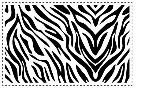 zebra pattern outline zebra template clipart best