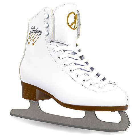comfortable ice skates sfr galaxy ice skates white ice skates cheap ice