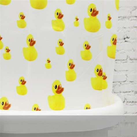 yellow duck shower curtain yl28 cartoon peva bathroom shower curtains yellow duck