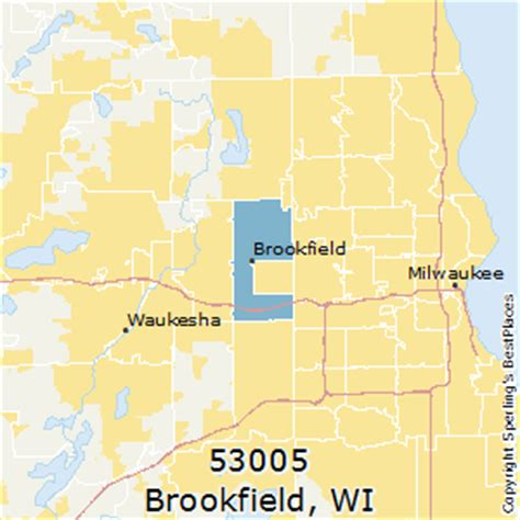 best places to live in brookfield zip 53005 wisconsin
