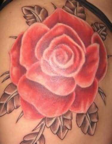 red rose tattoo shoulder shoulder tattoos on shoulder