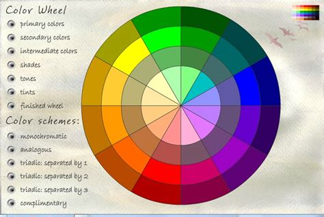 interactive color wheel 28 images color wheel decorate with colors on opposite sides sle
