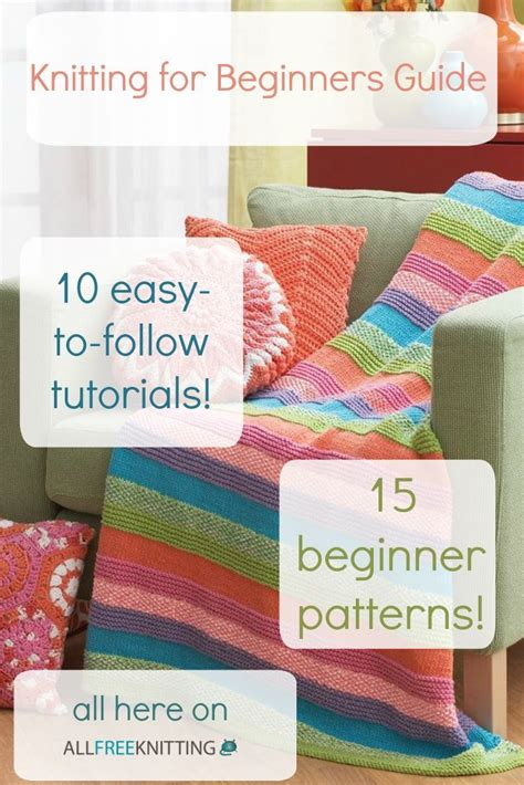 knit for beginners knitting for beginners 50 easy knitting patterns