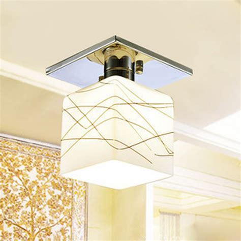 water cube ceiling light for corridors hallways
