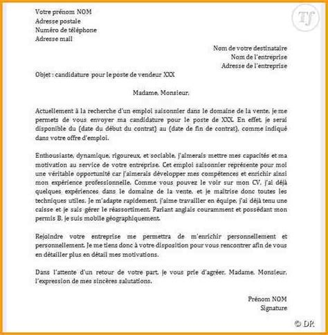 Exemple De Lettre Motivation Administration 7 Lettre De Motivation Mod 232 Le Lettre Administrative