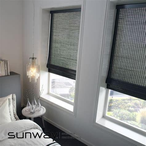 sunway vouwgordijnen sunway woodweave blinds zijn rol en vouwgordijnen van