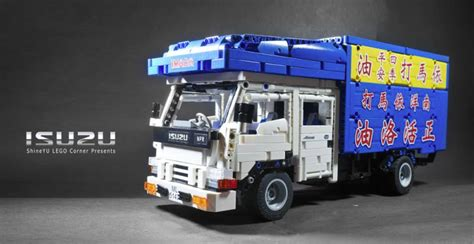 Lego Truck Can Change Car asian delivery the lego car