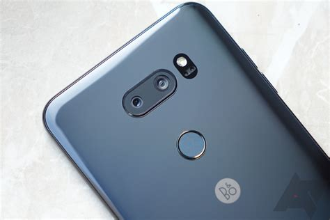Lg V30 Plus Blue lg v30 impressions a bigger and noticeably