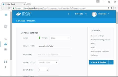 docker tutorial point docker cloud