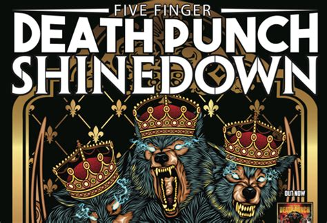 five finger death punch quad cities five finger death punch shinedown coming to billings this
