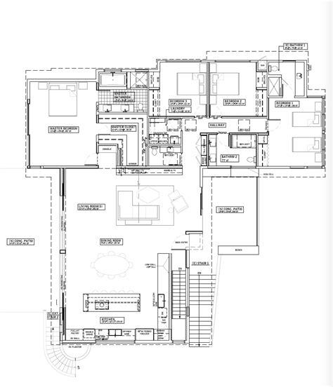 renovation floor plans indoor outdoor living an la ranch rehab by barbara bestor