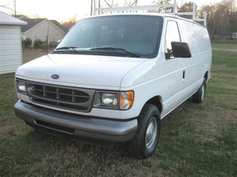 how to sell used cars 2001 ford econoline e150 transmission control purchase used 2001 ford e 150 cargo van excellent condition in winston salem north carolina