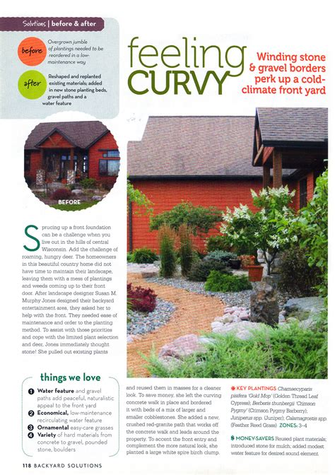 backyard solutions feeling curvy backyard solutions magazine landscape solutions by susan murphy