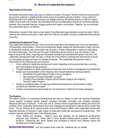 director of development description 9 director of development description sles