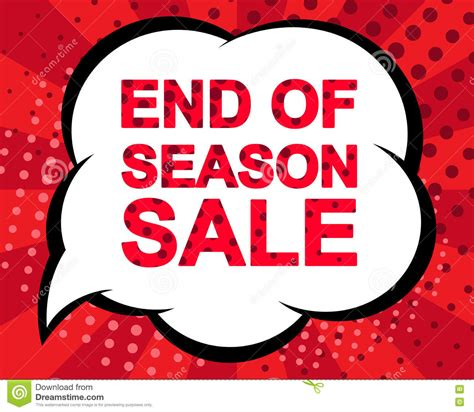 Sle Sale Season Starts by Big Winter Sale Poster With End Of Season Sale Text