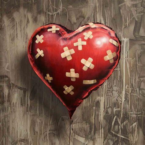 imagenes de corazones lastimados o heridos para corazones heridos plano sin fin