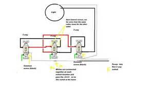i a problem with wiring a 4 way switch circuit i