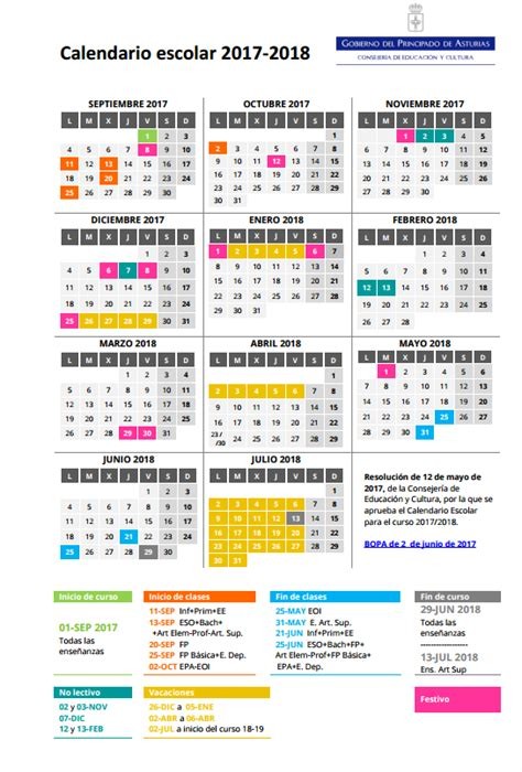 Calendario Laboral 2018 Cordoba Calendario Escolar 2017 18 191 Cu 225 Ndo Empieza El Cole