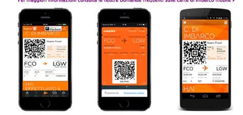 easyjet check in mobile come fare il check in con easyjet volopiuhotel