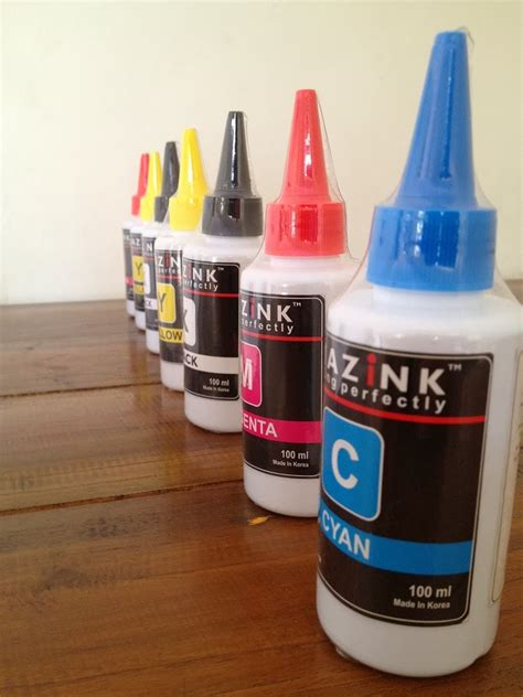 Tinta Printer Amazink Cara Menggunakan Tinta Printer Amazink Tinta Printer