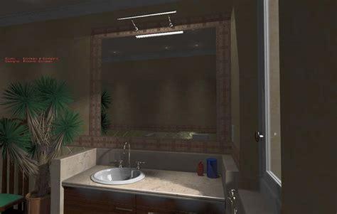 progettazione bagno on line immagini rendering bagno classico in muratura