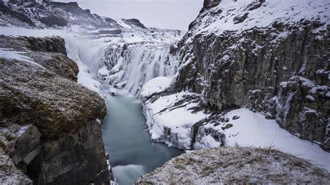 iceland waterfall hd wallpapers 4k gullfoss waterfall 4k wallpaper uhd images
