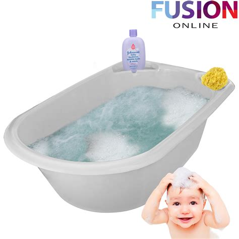 large bathtubs for toddlers jumbo x large baby bath tub plastic washing time big toddler basket baby bath ebay