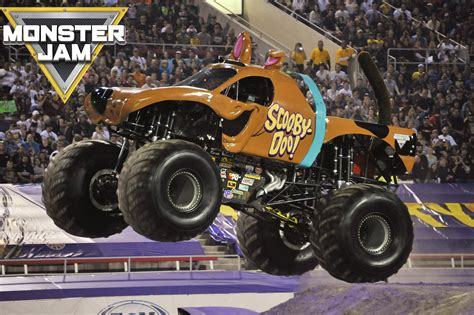 scooby doo monster truck video u s bank arena monster jam