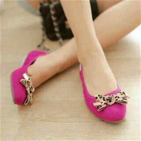 Sepatu Wanita Flat Shoes Pita Sdb50 Terbaru Murah 1 sepatu quot flat shoes quot wanita cantik model terbaru murah