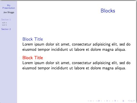 beamer themes sharelatex presentations with beamer pt 5 themes and handouts