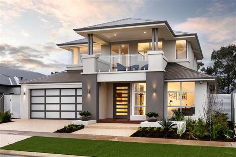 fresh home double story beautiful house design with interior details