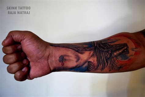 jesus 3d tattoo 3d jesus by skink raja natraj on deviantart