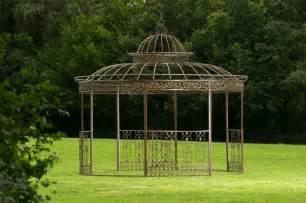 pavilion garten luxus pavillon romantik rund metall pavillion garten laube