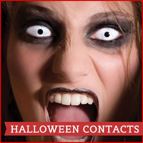 crazy contact lenses, coloured contact lenses, halloween