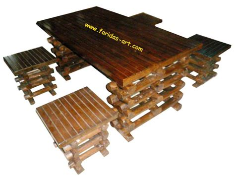 Meja Jepang faridas jual ukiran kayu jati furniture relief wooden craft