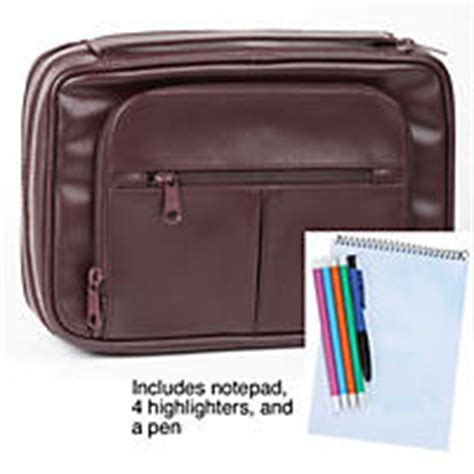 Large Cover by Deluxe Organizer Bible Cover Large Burgundy Lifeway