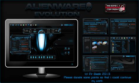 alienware theme for windows 7 kickass alienware evolution by mr blade on deviantart