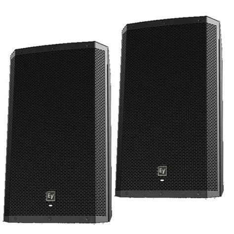 Speaker Aktif Electro Voice Zlx 15p Zlx 15p Zlx15p 1000 Watt ev electro voice zlx 15p active 15 2way dj pa speakers demo pair pro audio land