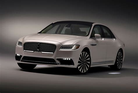 lincoln continental 2017 lincoln continental gets fancy schmancy approach