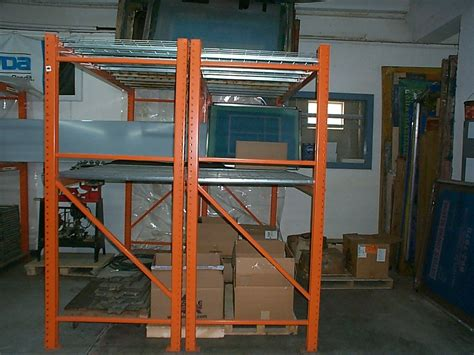 Used Pallet Racks by 6 Sections Used Pallet Racks