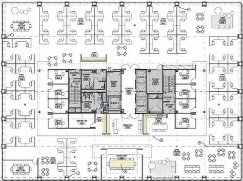 floor plan of office four must seating arrangements for your contemporary office design plan the crew office